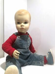 Vintage 6m Baby Boy Mannequin Sitting standing 28 Dressed In Adorable Baby Gap