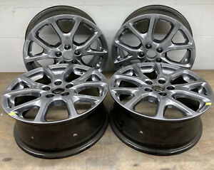 Jeep Cherokee 17 Oem Hypersilver Wheels Part 9130