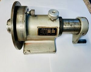 Phase Ii 5c Collet Spin Index Fixture 360 Degree Phase 2 Indexer 225 204
