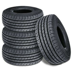 4 Lionhart Lionclaw Ht P215 60r17 96h All Season Highway Performance Truck Tire