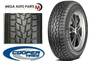 1 Cooper Evolution Winter 215 45r17 91h Studdable Winter Snow 3pmsf Tires
