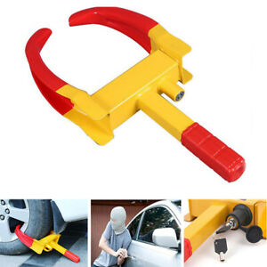 Wheel Lock Clamp Boot Parking Tire Trailer Anti Theft For Boat Car Truck Usa