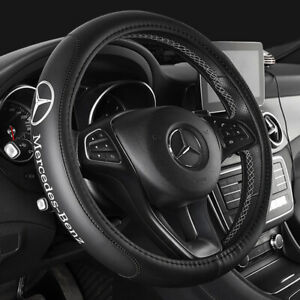 Genuine Leather Steering Wheel Covers For Mercedes Benz A B C E Gla Glc Gle Glk