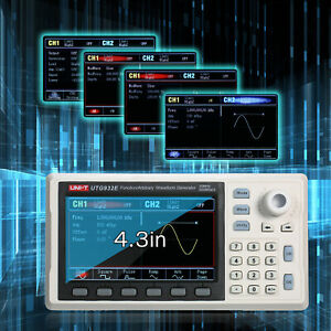 Function arbitrary Waveform Generator 30mhz Dds 200msa s Frequency Meter