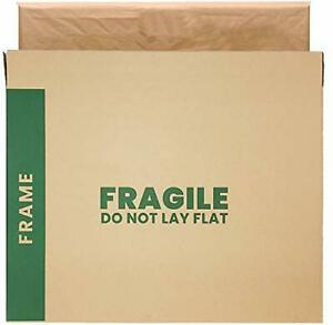 Picture Mirror Moving Boxes Artwork Art Packing Box 37 X 4 X 27 Inches Pack Of 8