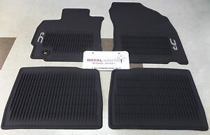 Scion Tc 2014 2016 Factory All Weather Rubber Floor Mats Genuine Oem Oe
