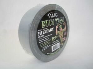 2 Rolls Silver Duct Tape Premium Quality Water Resistant