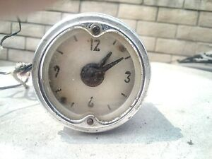 1951 1952 Nash Rambler Clock
