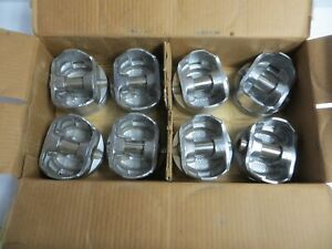 New Speed Pro 8 Pistons H345np Chevy 350 Flat Head