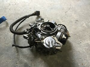 Mikuni 2 Barrel Carburetor Carb 35did 428 Solex Made In Japan Mitsubishi