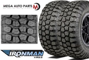 2 Ironman All Country M t 33x12 50r15 6 ply 108q Owl Off road Truck Mud Tires