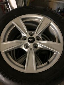 2020 Ford Mustang Oem 17 Rims And Tires