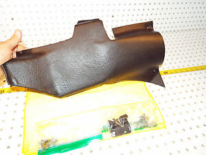 Mercedes Late W109 W108 Under Dash Driver Us Steering Column Black 1 Cover Clip