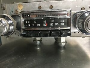 1967 Oldsmobile F85 Cutlass 442 Factory Am Fm Radio Delco 7300113 Nice