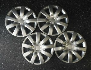 2004 2006 Toyota Camry Style 423 15s 15 Replacement Hubcaps Wheel Covers Set 4