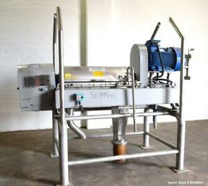 Used Alfa Laval Nx 414 semi sanitary Solid Bowl Decanter Centrifuge Stainles