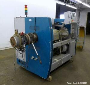 Used Ngr Next Generation Recycling Machine 65mm 2 55 Single Screw Extruder