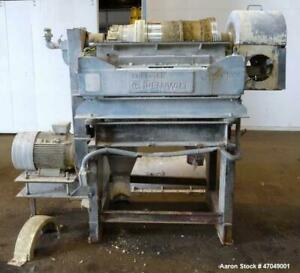 Used Sharples P 3000 Super d canter Centrifuge 316 Stainless Steel Constructio