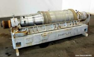 Used Sharples Pm 55000 Super d canter Centrifuge 304 Stainless Steel Construct