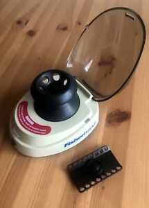 Fisher Brand Mini Centrifuge With Microcentrifuge And Pcr Tube Adapters