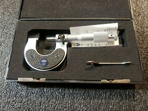 Mahr 0 1 40sh Micrometer W Carbide Tips And Ratchet Stop