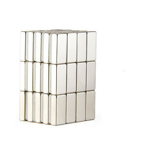 20pcs N35 Super Strong Block Square Rare Earth Neodymium Magnets 10 X 5 X 3mm