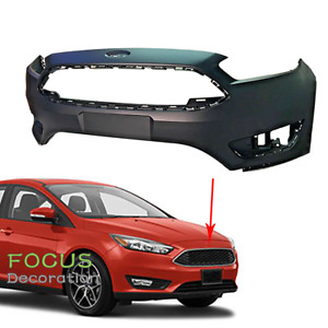 New Primed Front Bumper Cover For Ford Focus 2015 2016 2017 2018 S se sel