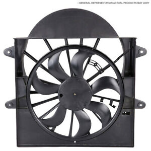 For Isuzu Trooper 1998 2002 Condenser Side Cooling Fan Assembly