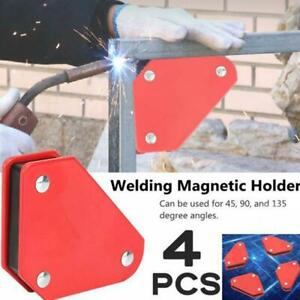 4 X Magnetic Large Welding Magnet Holder For Up To 9lbs 45 90 135 Angles
