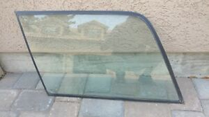 Ford Bronco Camper Shell Sliding Window Glass Drivers Side Rear 80 96