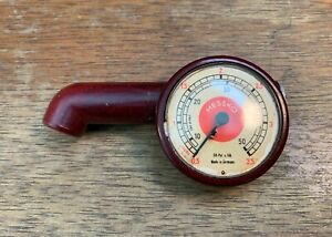Messko Bakelite Tire Pressure Gauge For Porsche 356 Tool Kit