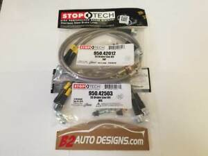 Stoptech F r Stainless Steel Brake Line Set Fits Nissan 370z And Infiniti G37