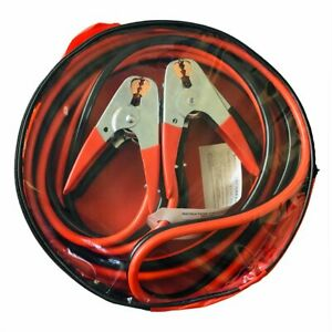 12 Ft 4 Gauge Heavy Duty Power Booster Cable Emergency Car Battery Jumper 500amp