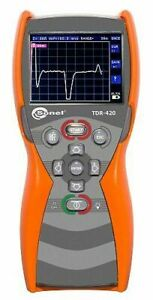 Sonel Tdr 420 Time Domain Reflectometer 6000m 1 Accuracy Tdr