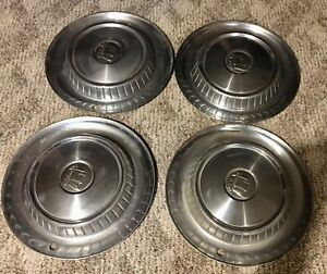 Set Of 4 1957 Dodge Lancer Hubcaps Knights Head Wheel Cover