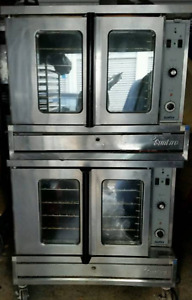 Sunfire Double Stack Lp Propane Commercial Convection Oven Us Range Garland