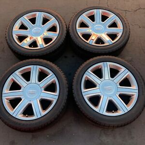 22 Cadillac Escalade Oem Chrome Wheels Rims Tires 4739 2016 2017 2018 2019 2020