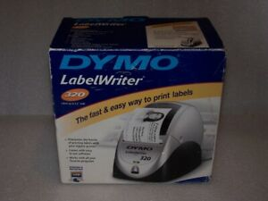 Dymo Labelwriter 320 Black And White Label Thermal Printer W address Labels New