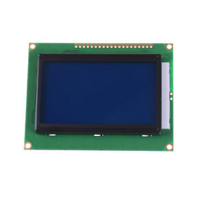 St7920 12864 128x64 Lcd Display Blue Backlight Parallel Serial Arduino 5v Bh Se