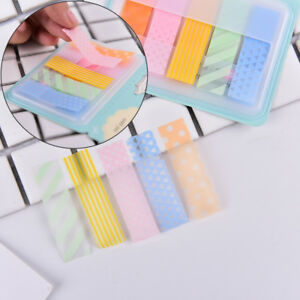 1pc Stick Markers Book Page Index Flag Sticky Notes Office School Supplies N Se