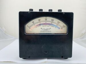 Very Rare hickok Model 18 Milliammeter W A 30 300 3000 Scale Nice Example