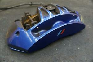 Front Right Brake Caliper Blue 34117845748 Oem Bmw M5 F10 2012 16 M6 F12 2012 19