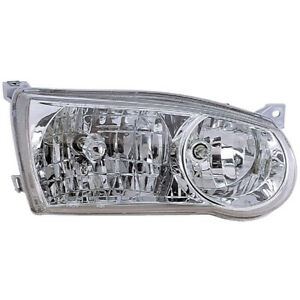 For Toyota Corolla 2001 2002 Right Passenger Side Headlight Assembly