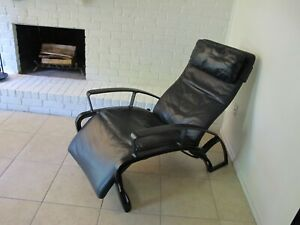 Houston Tx Pick Up Only Ferdinand A Porsche Ip 84 Lounge Metal Leather Chair