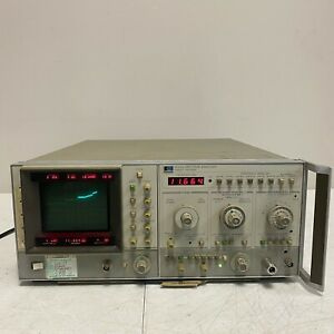 Hewlett Packard 8565a Spectrum Analyzer 10mh To 22ghz Vintage Analog Tested