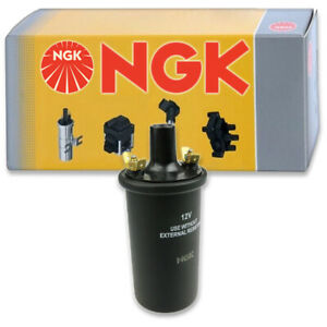 1 Pc Ngk Ignition Coil For 1955 1959 Peugeot 203 1 5l 1 3l L4 Spark Plug Kk