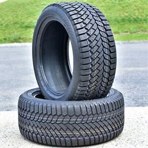 2 New Gislaved Continental Nord Frost 200 245 45r17 99t Xl Winter Tires