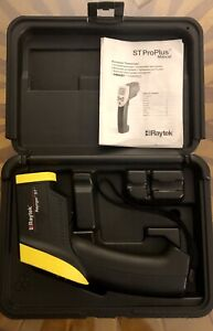 Raytek Raynger St Proplus Noncontact Infrared Thermometer Case No Contact Temp