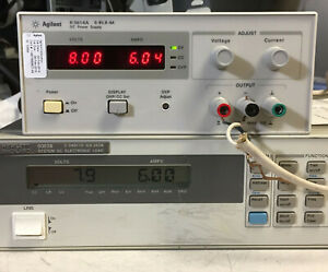 Hp Agilent E3614a Variable Dc Power Supply 0 8v 6a Load Tested