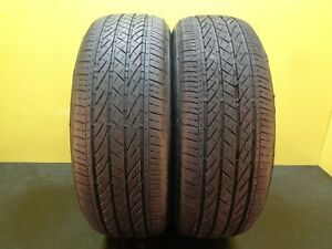 2 Like New Tires Bridgestone Turanza El 440 235 55 19 101h 77 Life 29629